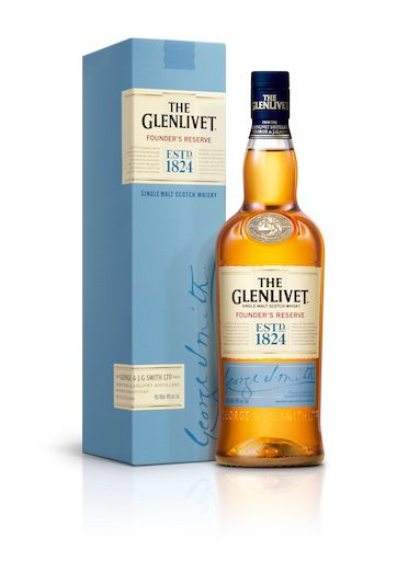 The Glenlivet Founders Reserve with Carton