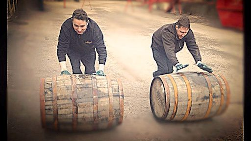 Barrel racing will take place in the distillery town of Dufftown during the Spirit of Speyside Whisky Festival