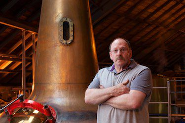Distillery manager Sandy Jamieson will be leading tours at Speyside Distillery which is opening its doors exclusively for the Spirit of Speyside Whisky Festival.