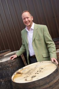 Alex Bruce, Managing Director, Adelphi Distillery Ltd. 29 July 2016. Charlestown. Credit: Photo by Tina Norris. Copyright photograph by Tina Norris. Not to be archived and reproduced without prior permission and payment. Contact Tina on 07775 593 830 info@tinanorris.co.uk www.tinanorris.co.uk