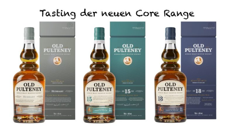 Tasting Old Pulteney Core Range 2018