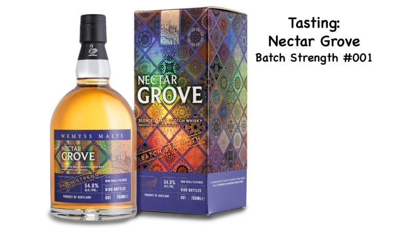 Tasting Nectar Grove Batch Strength