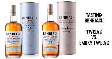 Tasting Benriach TWELVE vs. SMOKY TWELVE