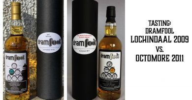 Tasting: dramfool Lochindaal 2009 vs. Octomore 2011