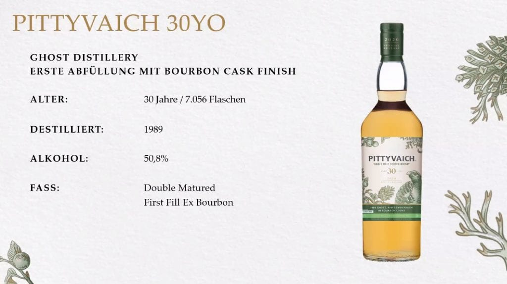 Diageo Special Releases 2020 Pittyvaich