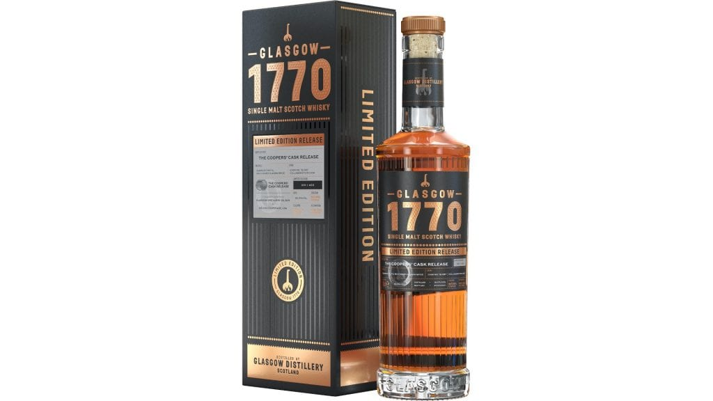 Glasgow 1770 The Coopers Cask Release